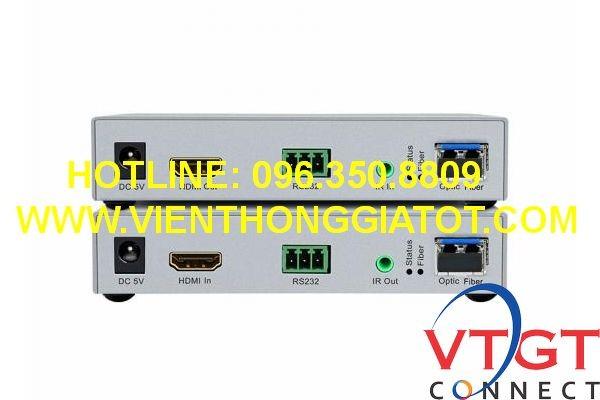 Bộ kéo dài HDMI qua cáp quang DTECH DT-7059A