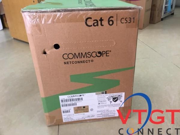 Dây cáp mạng cat6 AMP commscope chính hãng