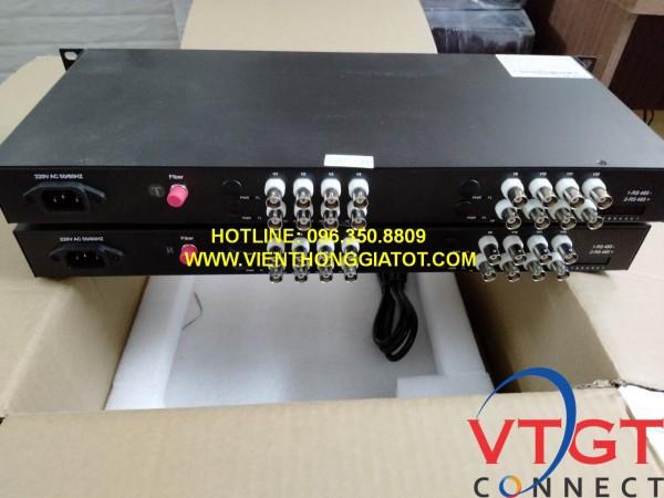 Bộ chuyển đổi video quang 16 kênh BT- HD16VF- T/R