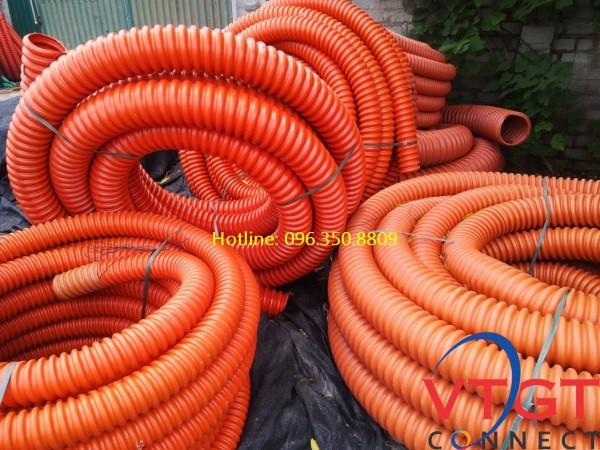 Ống nhựa xoắn HDPE D125/160