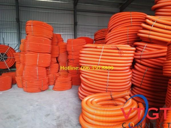 Ống nhựa xoắn HDPE D200/260