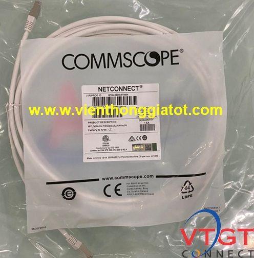 Dây nhảy patch cord Cat6A 5m P/N NPC6ASZDB-WT005M