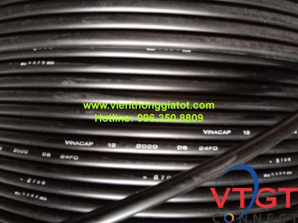 Cáp quang ngầm 24FO (24 sợi) phi kim loại Vinacap