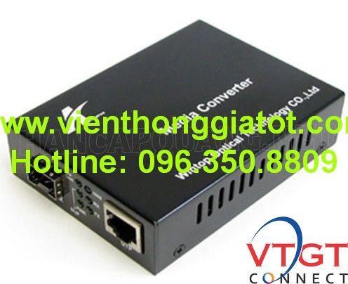Bộ chuyển đổi quang điện + SFP YT- 8110G- SPF- AS