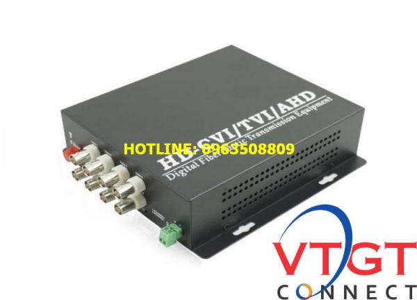 Bộ chuyển đổi video sang quang 8 kênh 1080P BT-HD8V1DF-T/R (có data)