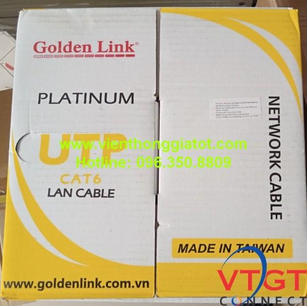 Dây cáp mạng cat6 Golden link