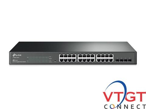 Switch 24 port POE TP-LINK T1600G -28PS (TL-SG2424P)