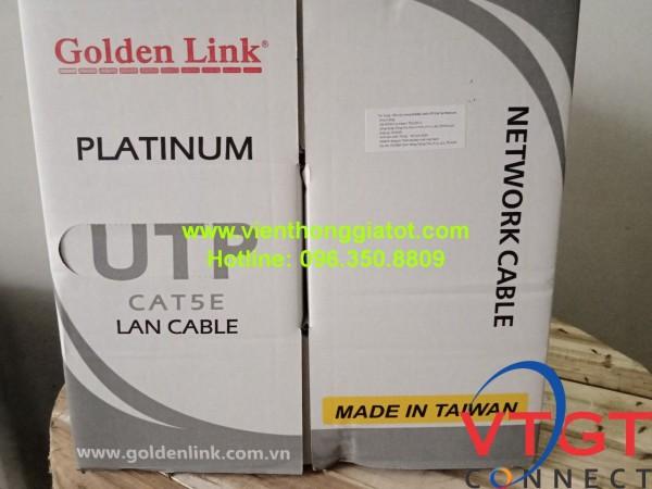 Dây cáp mạng CAT5e Golden link