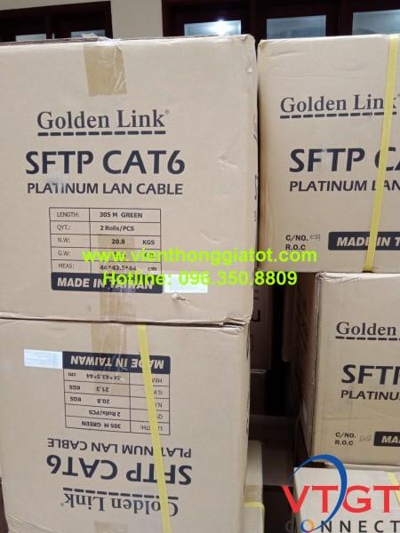 Cáp mạng CAT6 chống nhiễu SFTP Golden Link
