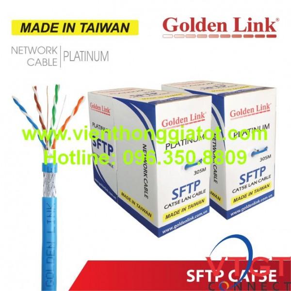 Giới thiệu về Cáp mạng CAT5e chống nhiễu SFTP GoldenLink chính hãng