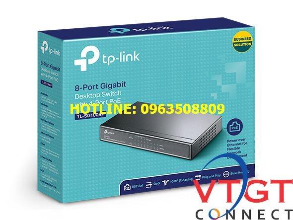 Switch TP-Link TL-SG1008P 8 port Gigabit POE