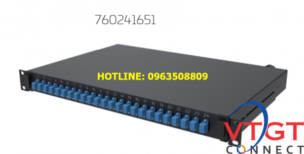 Hộp phối quang ODF 48FO AMP Commscope 760241651