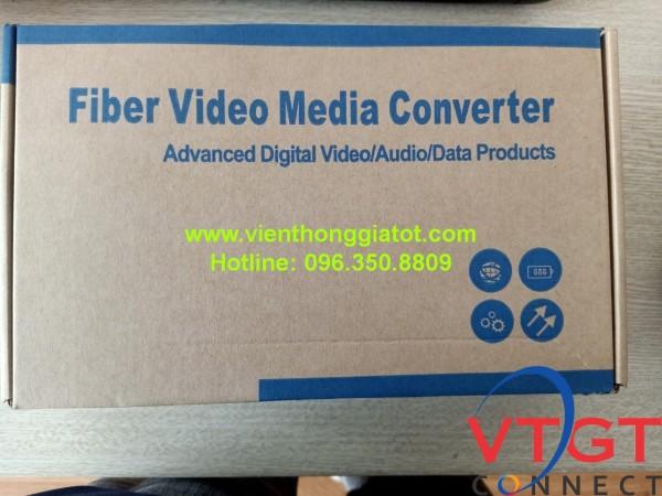 Bộ chuyển video converter quang 4 kênh