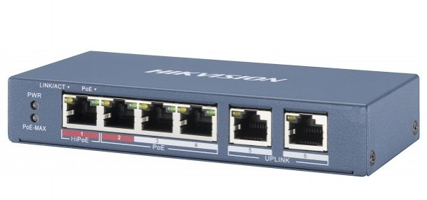 Switch Poe 4 cổng Hikvision