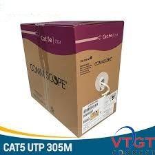 Cáp mạng AMP Commscope cat5e UTP | 6-219590-2