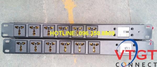 Thanh nguồn PDU gắn rack 8 cổng
