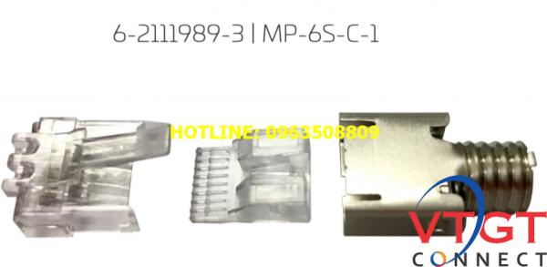 Hạt mạng 3 mảnh AMP Commscope 6-2111989-3