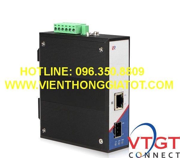 Bộ chuyển đổi quang công nghiệp 1G tốc độ 10/100/1000M Wintop