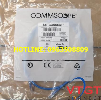 Dây nhảy cat6 AMP Commscope 2m NPC06UVDB-BL007F