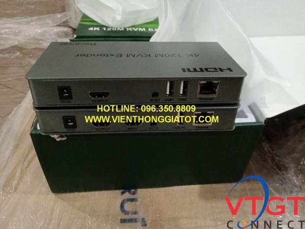 Bộ chuyển HDMI cáp mạng 120m có cổng USB