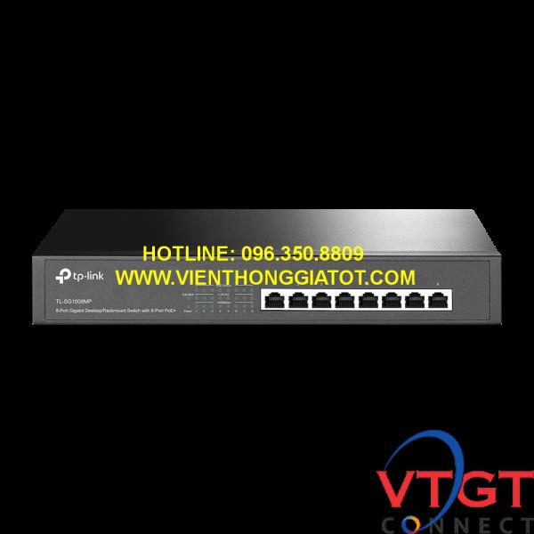 Switch Tp-link 8 cổng POE Gigabit TL-SG1008MP
