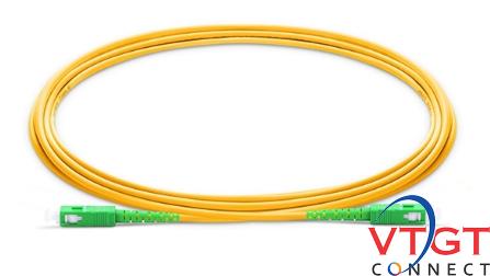 Dây nhảy quang single mode SC-SC chuẩn APC